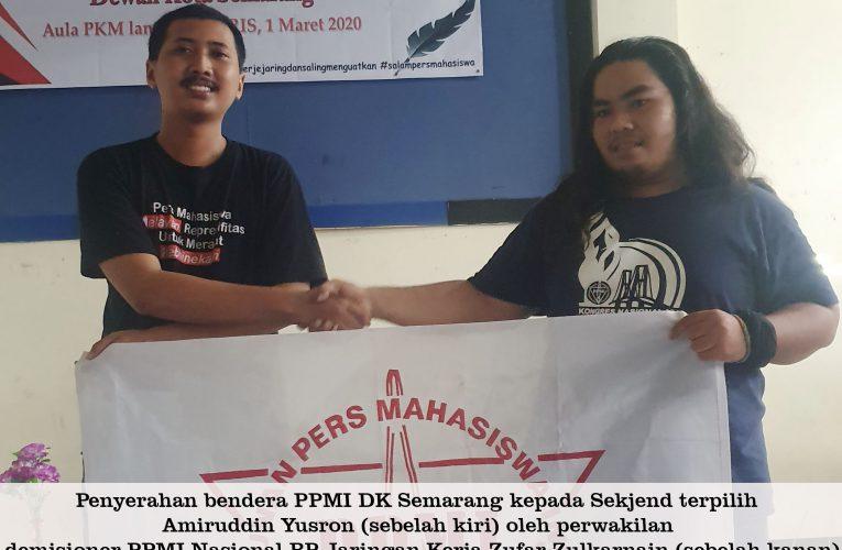Sekretaris Jendral Baru PPMI Dewan Kota Semarang